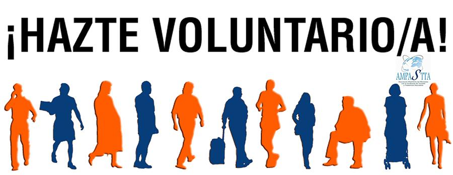 ¡Hazte voluntario/a!